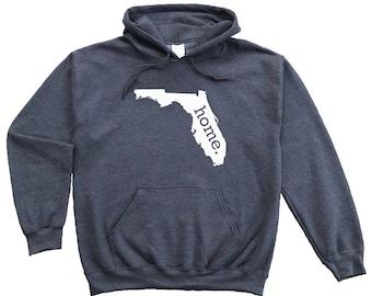 Homeland Tees Florida Home Pullover Hoodie Sweatshirt