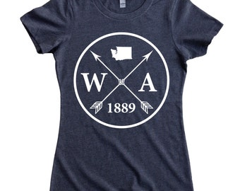 Homeland Tees Washington Arrow Women's T-Shirt