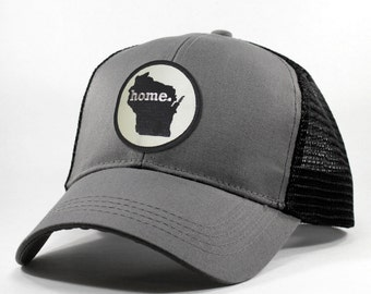 Homeland Tees Wisconsin Home State Trucker Hat