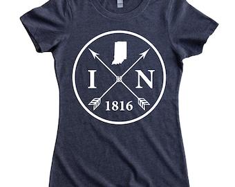 Homeland Tees Indiana Arrow Women's T-Shirt