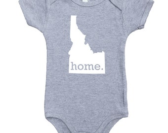 856b25447 Homeland Tees Idaho Home Unisex Baby Bodysuit