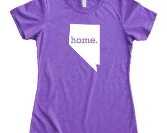 Homeland Tees Nevada Home State Women's T-Shirt