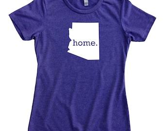 Homeland Tees Arizona Home State Women's T-Shirt
