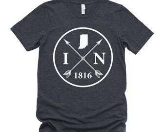 Homeland Tees Unisex Indiana Arrow T-Shirt