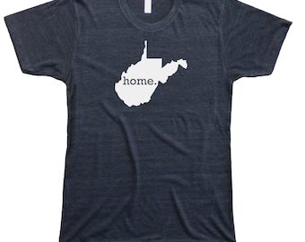 Homeland Tees Men's West Virginia Home T-shirt