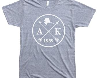 Homeland Tees Men's Alaska Arrow T-Shirt