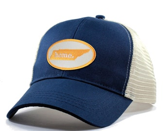 Homeland Tees Tennessee Home Trucker Hat - Orange Patch