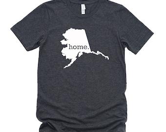 Homeland Tees Alaska Home State T-Shirt - Unisex