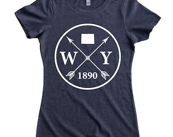 Homeland Tees Wyoming Arrow Women's T-Shirt