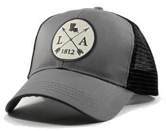 Homeland Tees Louisiana Arrow Hat - Trucker