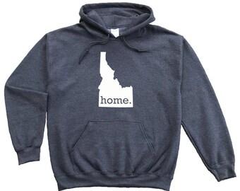 Homeland Tees Idaho Home Pullover Hoodie Sweatshirt