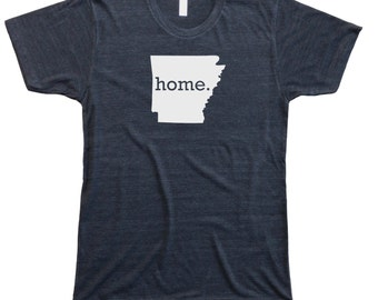Homeland Tees Men's Arkansas Home T-Shirt