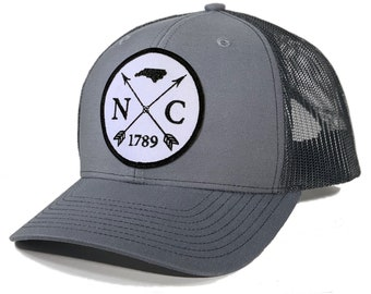 Homeland Tees North Carolina Arrow Patch Trucker Hat