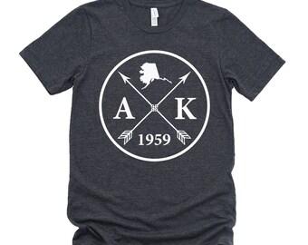 Homeland Tees Unisex Alaska Arrow T-Shirt
