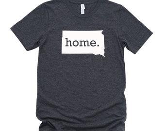 Homeland Tees South Dakota Home State T-Shirt - Unisex