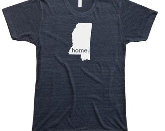 Homeland Tees Men's Mississippi Home T-Shirt