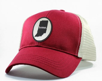 Homeland Tees Indiana Home Trucker Hat