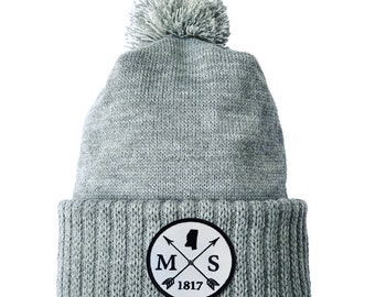 Homeland Tees Mississippi Arrow Patch Cuff Beanie
