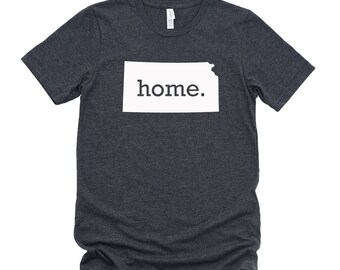 Homeland Tees Kansas Home State T-Shirt - Unisex