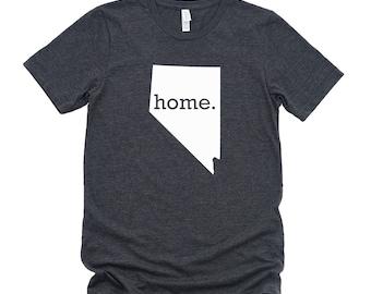Homeland Tees Nevada Home State T-Shirt - Unisex
