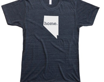Homeland Tees Men's Nevada Home T-Shirt