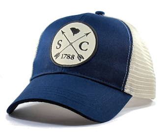 b2aff35b12256 Homeland Tees South Carolina Arrow Hat - Trucker