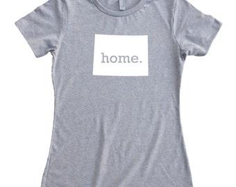 Homeland Tees Colorado Home State T-Shirt Women's Tee