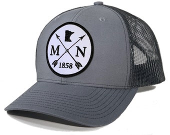 Homeland Tees Minnesota Arrow Patch Trucker Hat