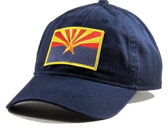 Homeland Tees Arizona Flag Hat