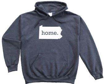 Homeland Tees Pennsylvania Home Pullover Hoodie Sweatshirt
