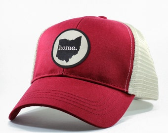 Homeland Tees Ohio Home State Trucker Hat