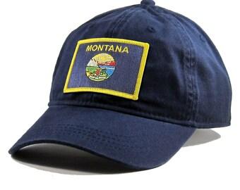 Homeland Tees Montana Flag Hat