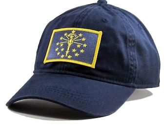 Homeland Tees Indiana Flag Hat