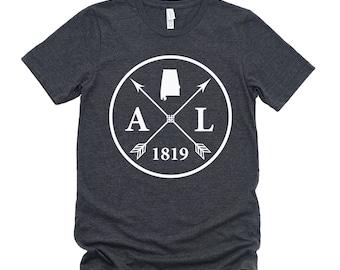 Homeland Tees Unisex Alabama Arrow T-Shirt