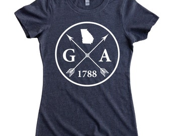 Homeland Tees Georgia Arrow Women's T-Shirt