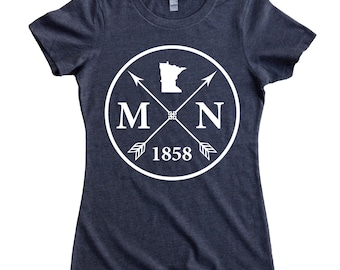 Homeland Tees Minnesota Arrow Women's T-Shirt