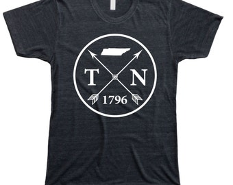 Homeland Tees Men's Tennessee Arrow T-Shirt
