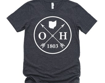 Homeland Tees Unisex Ohio Arrow T-Shirt