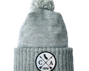 Homeland Tees California Arrow Patch Cuff Beanie