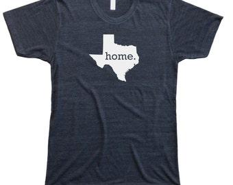 Homeland Tees Men's Texas Home T-Shirt