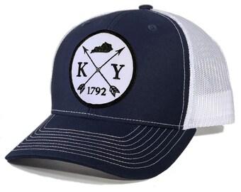 Homeland Tees Kentucky Arrow Patch Trucker Hat