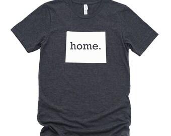 Homeland Tees Wyoming Home State T-Shirt - Unisex