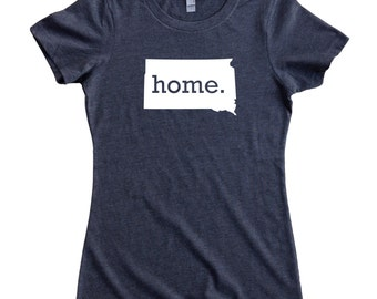 Homeland Tees South Dakota Home State Women's T-Shirt