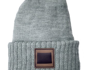 Homeland Tees Colorado Leather Patch Cuff Beanie