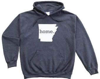 Homeland Tees Arkansas Home Pullover Hoodie Sweatshirt