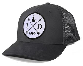 Homeland Tees Idaho Arrow Patch Trucker Hat