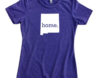 Homeland Tees New Mexico Home State Women's T-Shirt