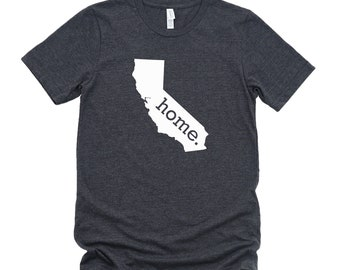 Homeland Tees California Home State T-Shirt - Unisex