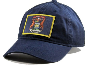 Homeland Tees Michigan Flag Hat