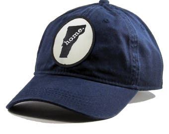 a3008176cec Homeland Tees Vermont Home Hat - Navy Cotton Twill